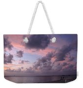 Seven Mile Beach Sunset Weekender Tote Bag