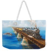 Seven Mile Bridge Weekender Tote Bag