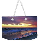 Seven Minutes On The Beach Weekender Tote Bag