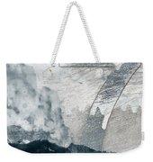 Seven On Blue Weekender Tote Bag by Carol Leigh