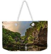 Seven Sacred Paradise Weekender Tote Bag