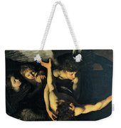 Seven Works Of Mercy Weekender Tote Bag by Caravaggio