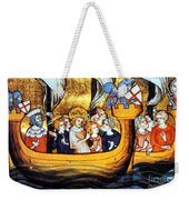 Seventh Crusade 13th Century Weekender Tote Bag