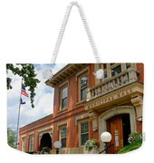 Sewickley Municipal Hall Weekender Tote Bag