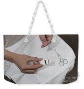 Sewing Weekender Tote Bag