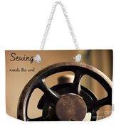 Sewing Mends The Soul Weekender Tote Bag