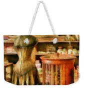 Sewing - Supplies For The Seamstress Weekender Tote Bag by Mike Savad