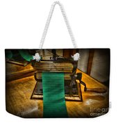 Sewing - The Victorian Seamstress  Weekender Tote Bag by Paul Ward