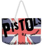 Sex Pistols First Us Appearance Weekender Tote Bag