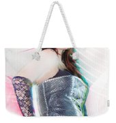 Sexy Girl On Moving Weekender Tote Bag