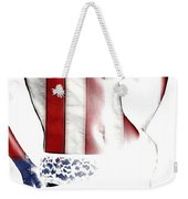 Sexy Stars And Stripes Weekender Tote Bag