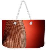 Sexy Woman Hips In Fishnet  Weekender Tote Bag