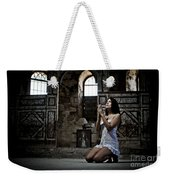 Sexy Woman In Church 2 Weekender Tote Bag