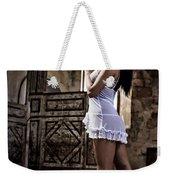 Sexy Woman In Church Weekender Tote Bag