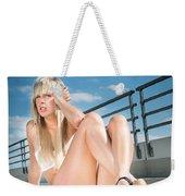 Sexy Woman Weekender Tote Bag