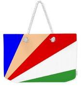 Seychelles Flag Weekender Tote Bag