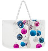 Shabby Chic Christmas Weekender Tote Bag