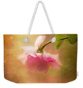 Shabby Chic Rose Print Weekender Tote Bag