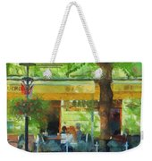 Shaded Cafe Weekender Tote Bag