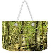 Shades Mountain Bridge In The Forest Weekender Tote Bag
