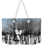 Shades Of A Gothic Winter Weekender Tote Bag