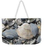 Shades Of Blue Shells Weekender Tote Bag