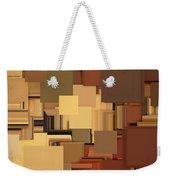 Shades Of Brown Weekender Tote Bag by Lourry Legarde