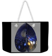 Shades Of Midnight Weekender Tote Bag
