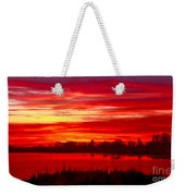 Shades Of Red Weekender Tote Bag