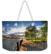 Shadow And Light V1 Weekender Tote Bag