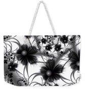 Shadow Flowers Weekender Tote Bag