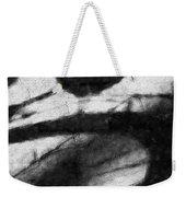 Shadow Heart Graphite Drawing Weekender Tote Bag