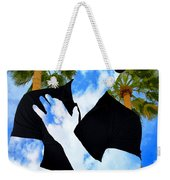Shadow Man Palm Springs Weekender Tote Bag