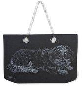 Shadow Weekender Tote Bag by Michele Myers