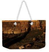 Shadow Of Cross Peru Weekender Tote Bag
