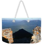 M-05715-shadow Of Mt. Mcloughlin Weekender Tote Bag