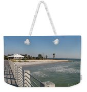 Shadow On The Pier Weekender Tote Bag