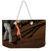 Shadowed Dance Weekender Tote Bag