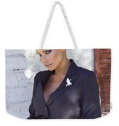 Shadowing Madaleine Palm Springs  Weekender Tote Bag by William Dey