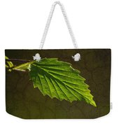 Shadows And Light Of The Leaf Weekender Tote Bag