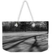 Shadows In The Park Square Weekender Tote Bag