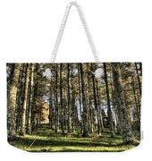 Shadows Of The Larch Forest Sunset No2 Weekender Tote Bag