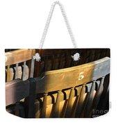 Shadows On Chairs Weekender Tote Bag
