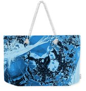 Shadows Under Ice Weekender Tote Bag