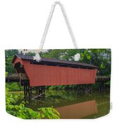 Shaeffer Or Campbell Covered Bridge Weekender Tote Bag