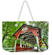 Shafer Covered Bridge Weekender Tote Bag
