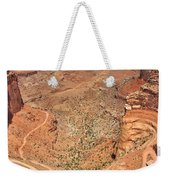 Shafer Trail Weekender Tote Bag by Adam Romanowicz