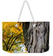 Shagbark Hickory Tree Weekender Tote Bag