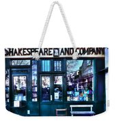 Shakespeare And Company Paris France Weekender Tote Bag
