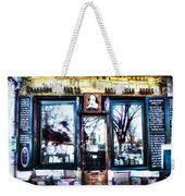 Shakespeare Antiquarian Books Paris France Weekender Tote Bag
